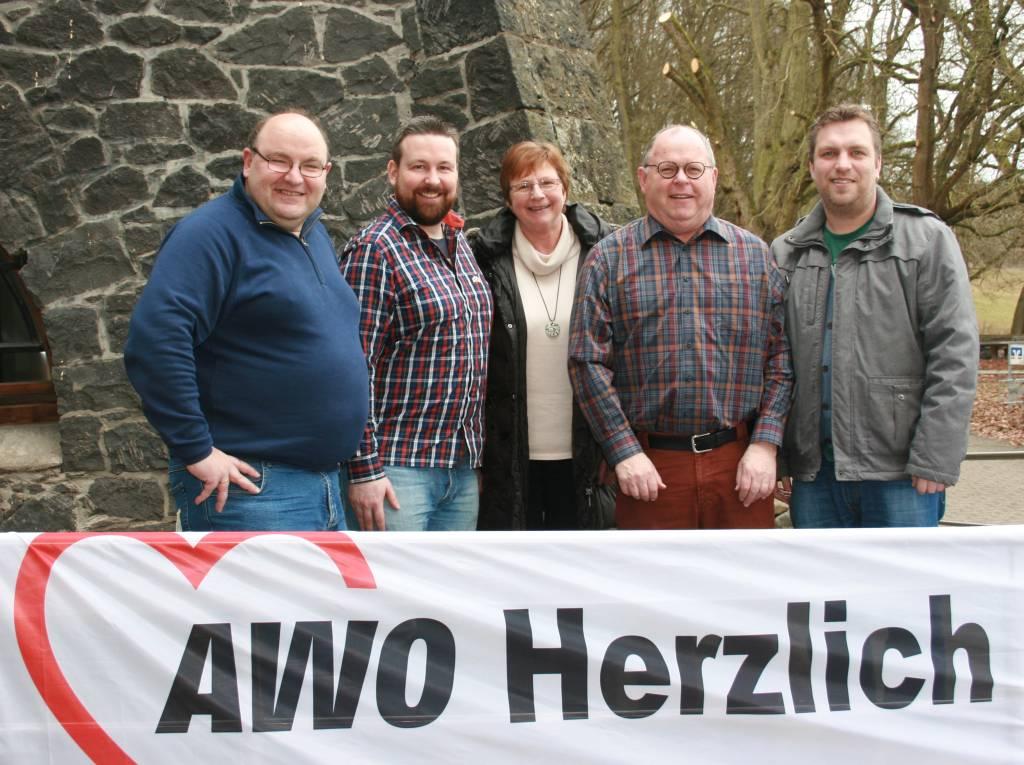 Der geschäftsführende Vorstand des AWO Kreisverbands Mayen-Koblenz e.V.